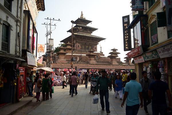 катманду пагода тамель мару древний город