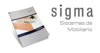 Catalogo de muebles para oficina Sigma