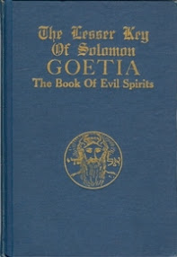 Cover of Aleister Crowley's Book The Lesser Key of Solomon Goetia The Book of Evil Spirits