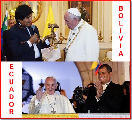 Progresismo - Bolivia - Ecuador