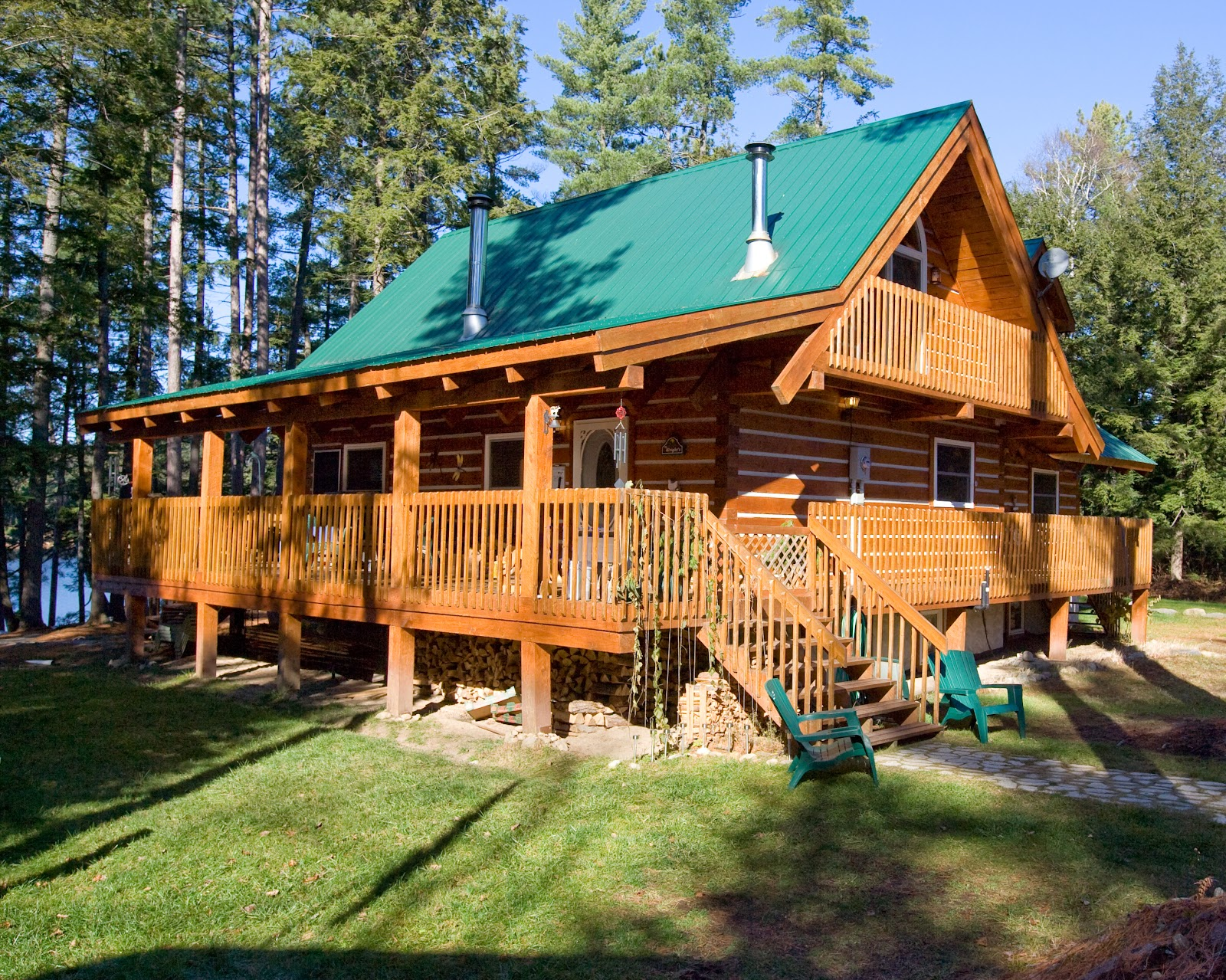 Gallery for Log home designs ontario