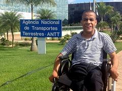 1 - Jovem deficiente supera paralisia cerebral e passa no concurso da ANTT 400