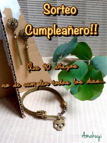 Sorteo-Cumpleañero-pulsera-pendientes-cremallera