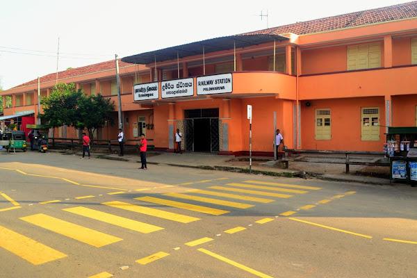 Жд станция Полоннарува, Шри Ланка