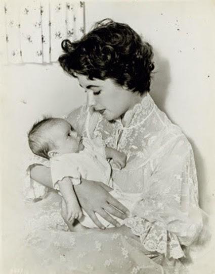 Elizabeth Taylor & Michael Wilding, Jr
