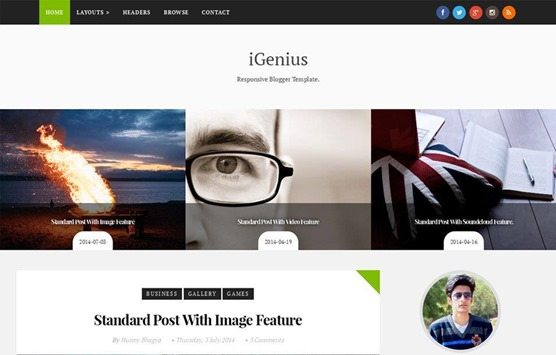 igenius-template