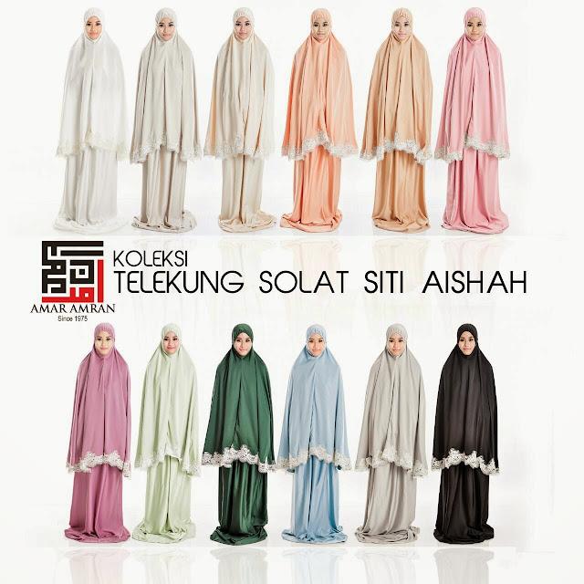 Telekung Siti Aisyah