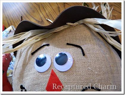 Burlap Scarecrow 16