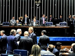 1 - Senado aprova MP que altera regras de pensão por morte, auxílio-doença e fator previdenciário