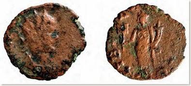 Abric de la Falguera - Moneda romana