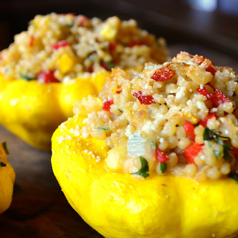Stuffed Patty-Pan Squash