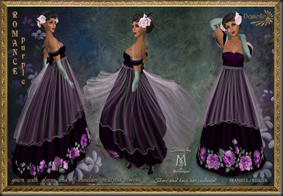 DANIELLE Romance Purple'