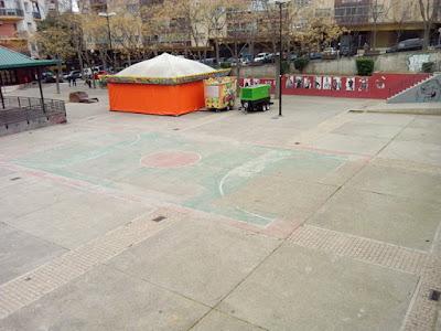 Pista futbol Parque de la Memoria Zaragoza