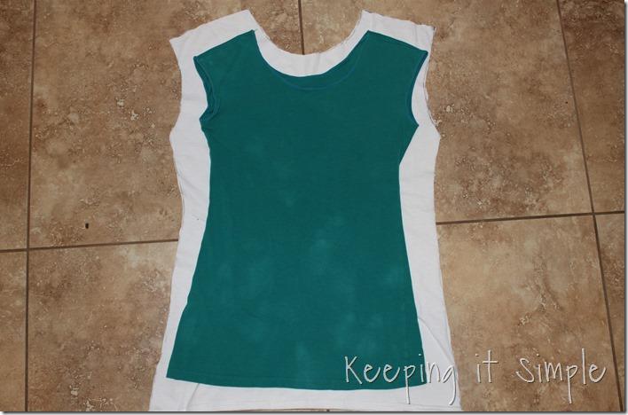 #ad DIY-Ombre-Tie-Dye-Shirt-Refashion (5)