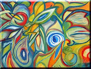 Garden: Paradise (oils, 2001)