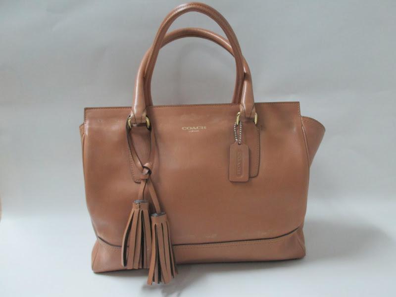 Coach Tassel Handbag