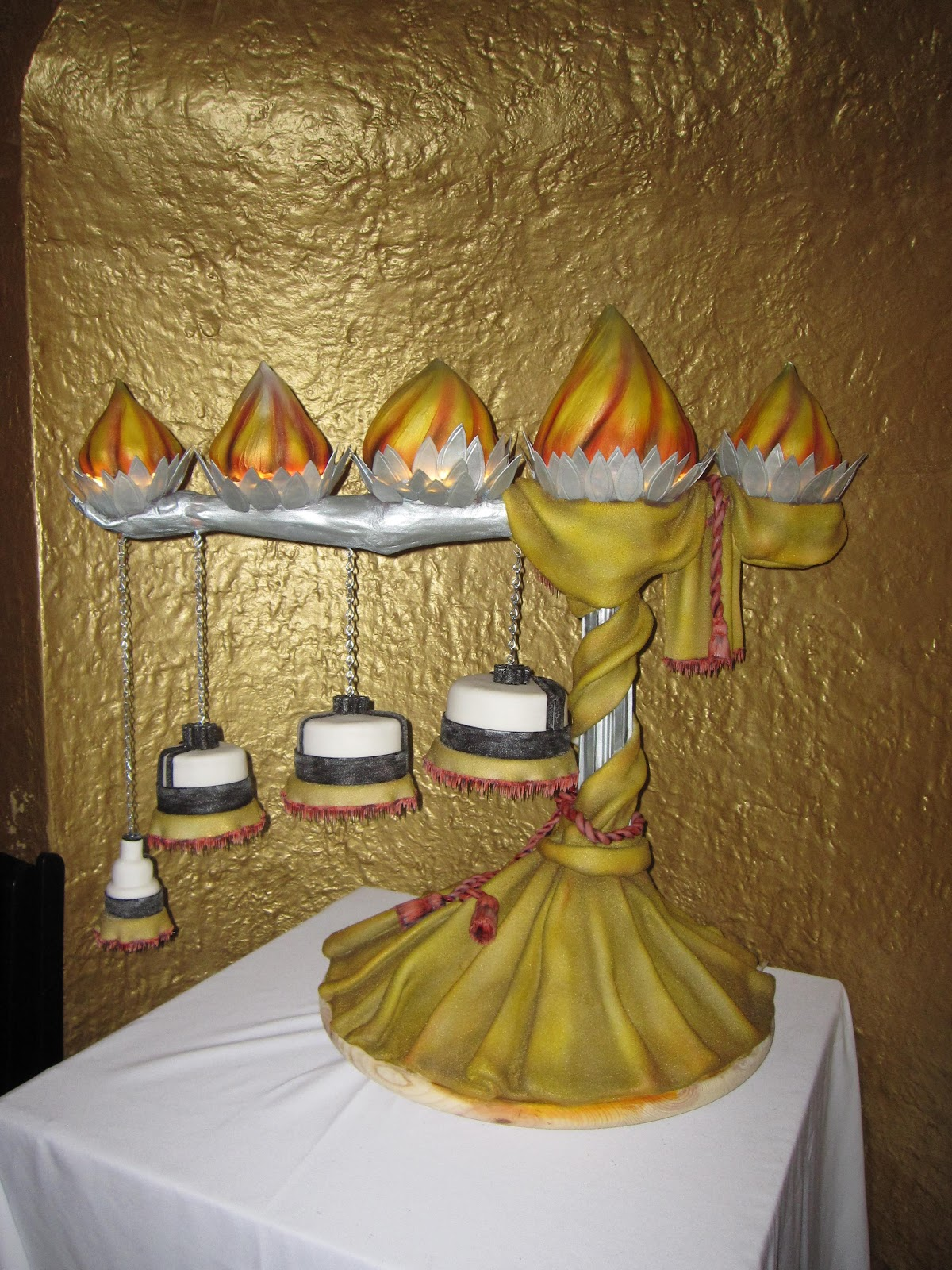 cup cake wedding cakes with