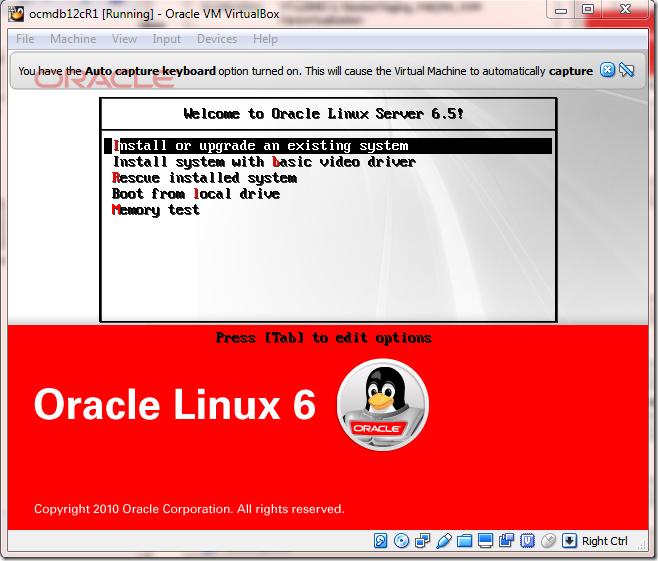 Install OS Screen 1