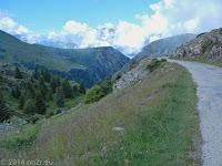 Vom Col de Sarenne (1999 m) gleich weiter nach Alpe d'Huez.