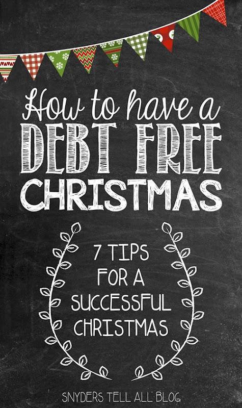 Christmas Debt Free