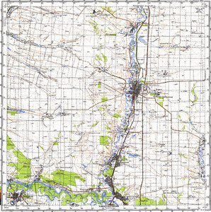 Map 100k--m37-129--(1981)