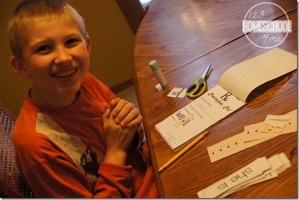 hands on activity learning contractions with this fun cut and paste activity