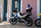 Een politie-fiets.