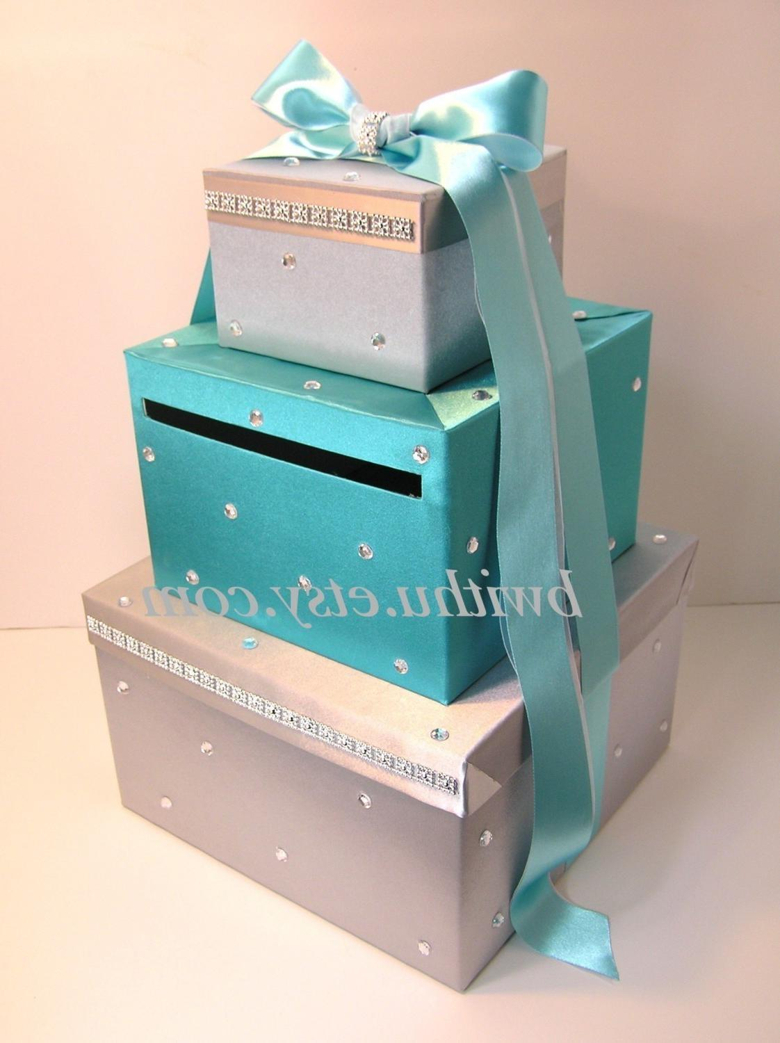 Wedding Card Box Gift Card Box Money Box Holder-Customize Your Color