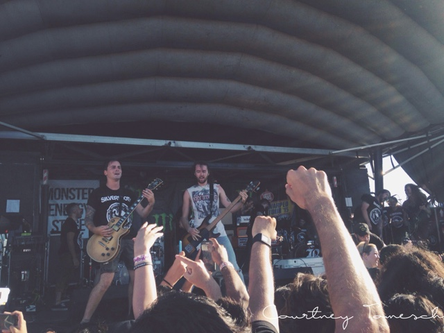 Vans Warped Tour 2015 Silvertooth Silverstein Beartooth Hands Like Houses