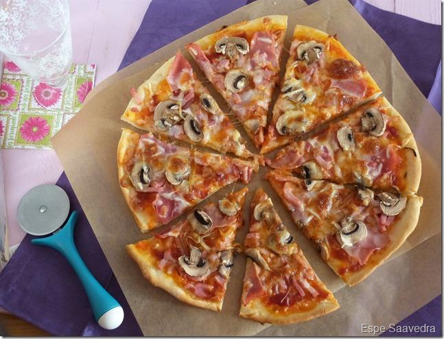 pizza bacon champiñon espe saavedra