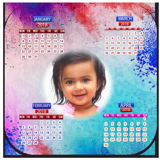 Calendar Photo Frames 2018 (app)