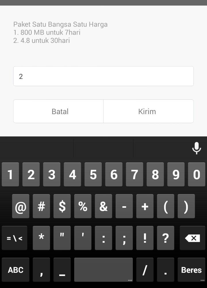 ... .? - Hp Android dan Paket Internet - Hp Android dan Paket Internet