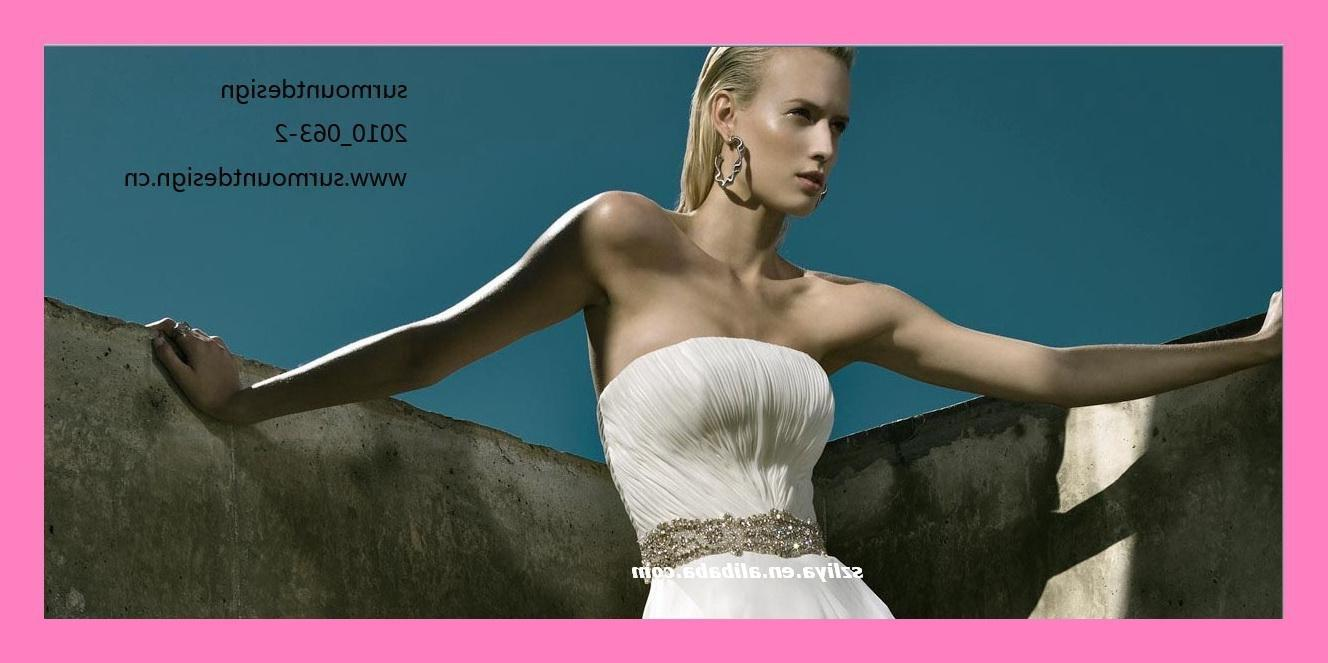Surprisingly low price Leisure beach wedding gown custom made