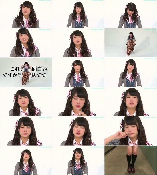 (TV-Variety)(720p) YNN [NMB48チャンネル] 村上文香卒業メッセージ 150313