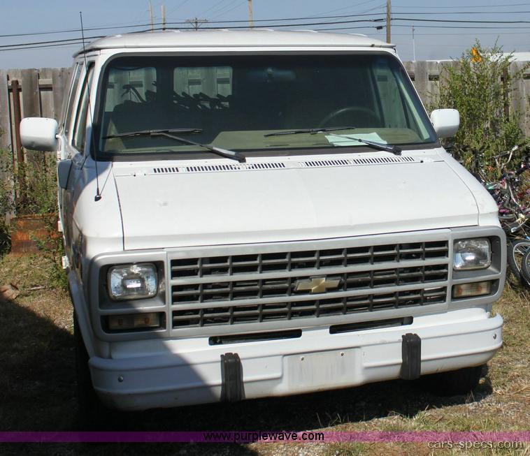 1996 Chevrolet Sportvan Van Specifications, Pictures, Prices