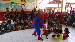 Bloco dos Heróis - Dia das Crianças 2015