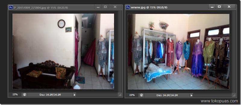trik cepat membuat efek panorama photoshop
