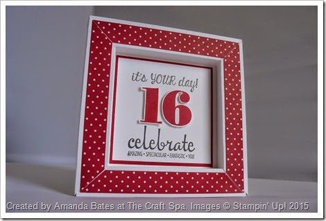 shadow box frame card joe 16 by amanda bates at the craft spa