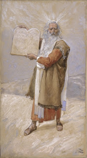 James Jacques Joseph Tissot, משה עם לוחות הברית