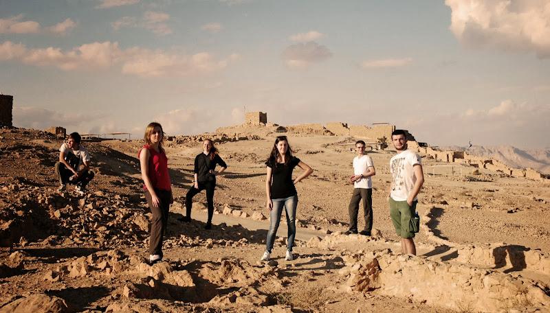 od lewej: Ja, Marzena, Ewelina, Paulina, Kamil, Piotrek. TAAAKA EKIPA!