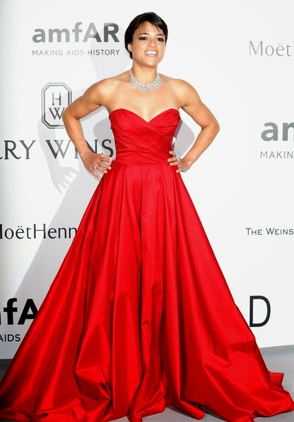 Michelle Rodriguez attends amfAR's 22nd Cinema Against AIDS Gala2