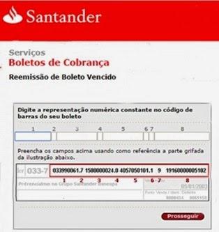 atualizar-boleto-santander-tirar-2via-www.meuscartoes.com