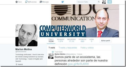 Twitter Marlon Molina