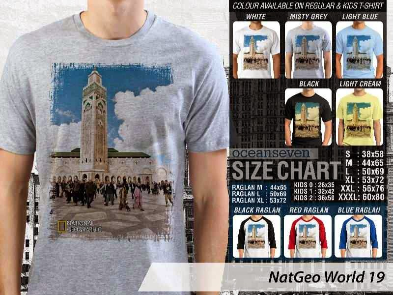 Kaos National Geographic NatGeo World 19 distro ocean seven