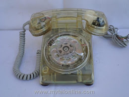 Desk Phones - Western Electric 500 Clear 6-72 1