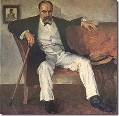 pic-K-R-Krychevsky Fedir Portrait of Taras Shevchenko 1928-1929