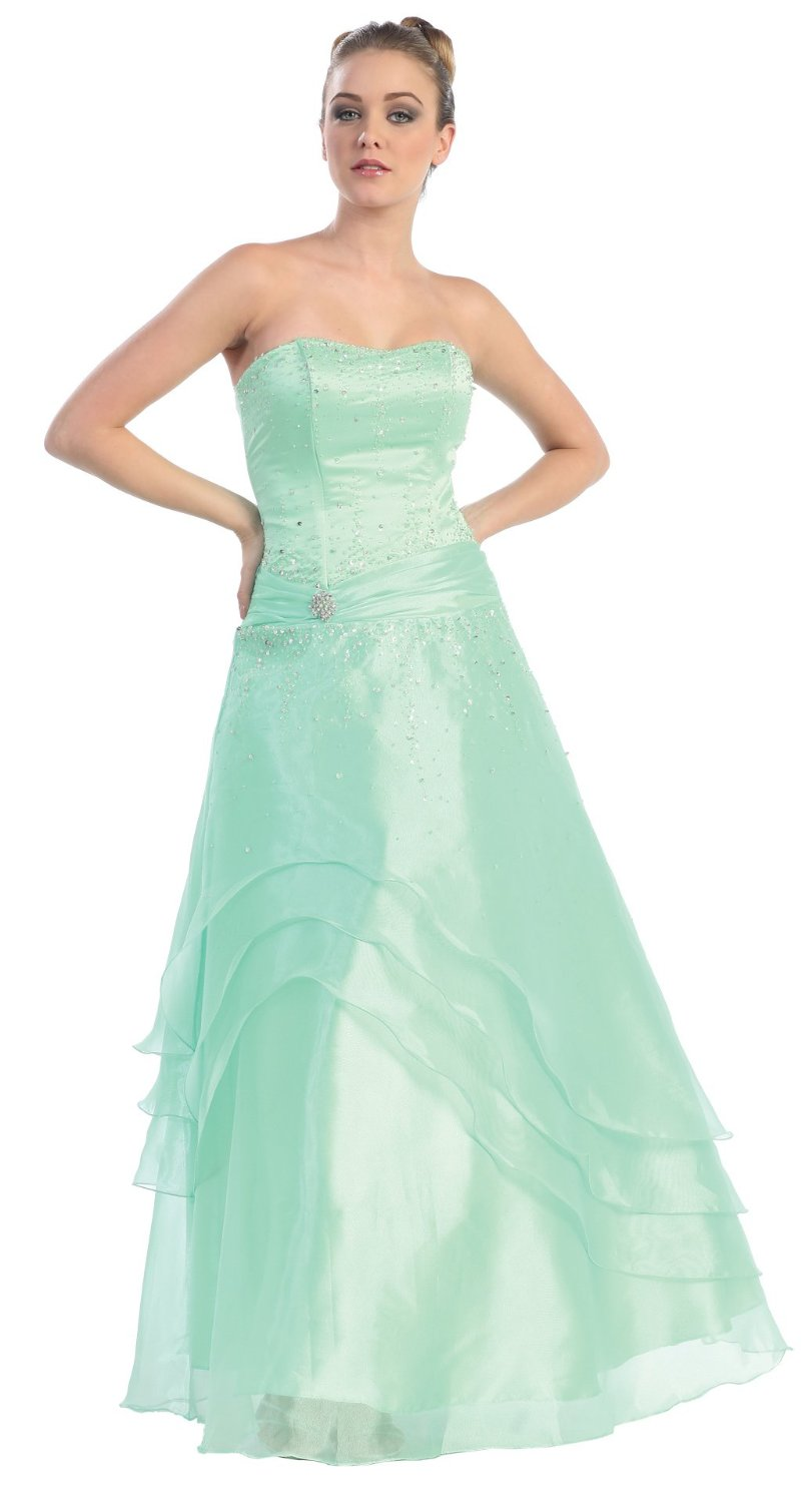 Ball Gown Strapless Formal