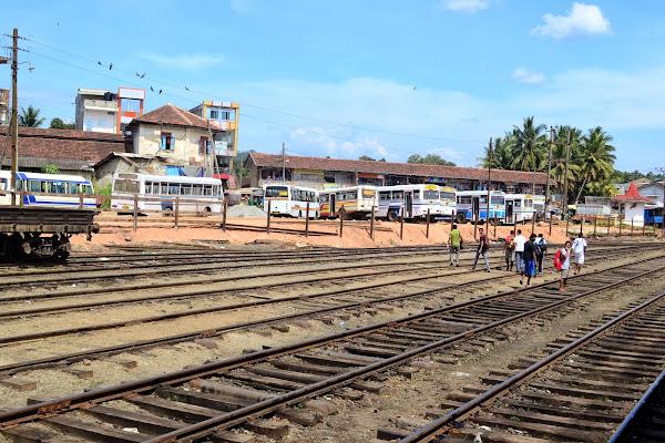 ЖД станция, Шри Ланка