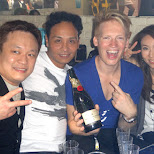 Akira, Katsuyoshi & Matt at Agefarre 2015 in Tokyo, Tokyo, Japan