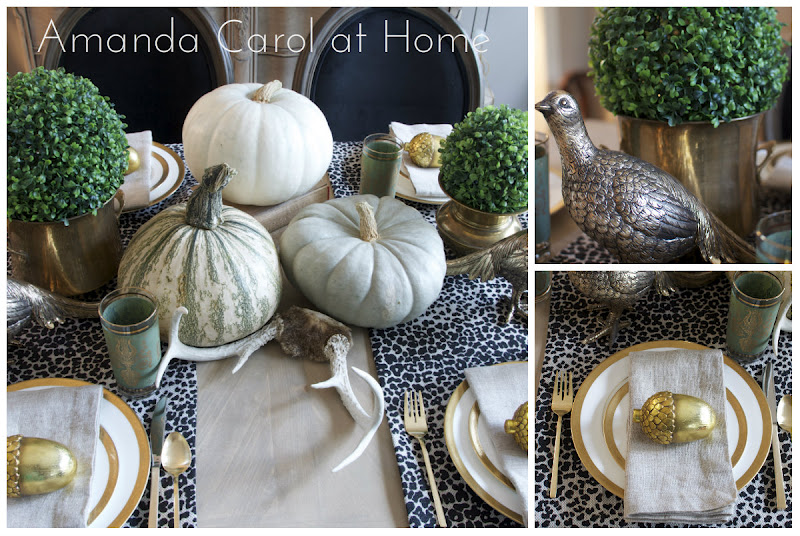 Fall 2012 Tablescape
